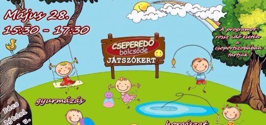 Játszókert, Cseperedő Bölcsőde Pécs